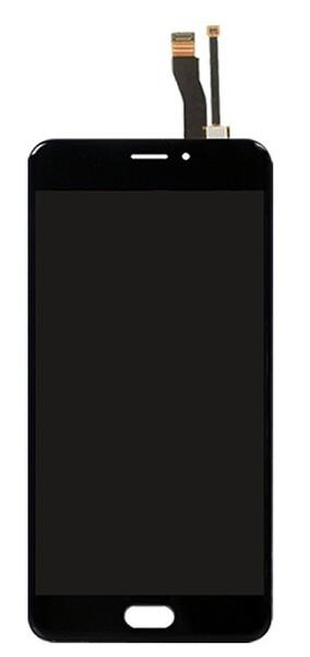 Экран для Meizu M5 Note с тачскрином, цвет: черный