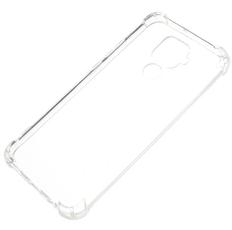 Чехол для Huawei Mate 30 Lite силиконовый, цвет: прозрачный