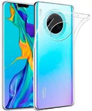 Чехол для Huawei Mate 30 Pro силиконовый, цвет: прозрачный