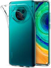 Чехол для Huawei Mate 30 силиконовый, цвет: прозрачный