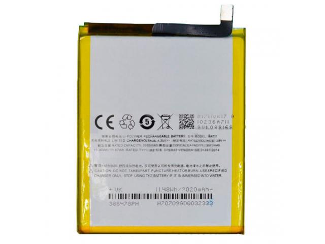 Аккумулятор для Meizu M6 (BA711) оригинальный