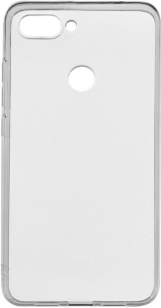 Чехол для Xiaomi Mi 8 Lite силиконовый, цвет: прозрачный