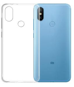 Чехол для Xiaomi Mi 8 (Mi8) силиконовый, цвет: прозрачный