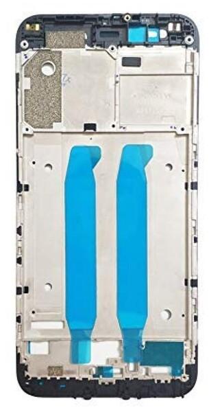 Средняя часть (рамка) для Xiaomi Mi A1 (Mi 5x, Mi5X) цвет: черный