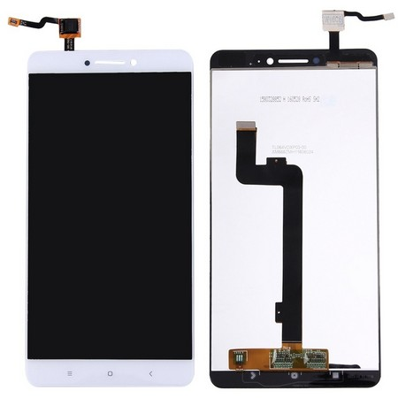 Экран для Xiaomi Mi Max с тачскрином, цвет: белый