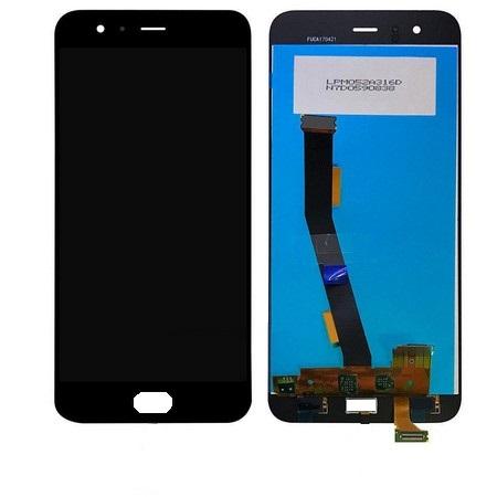 Экран для Xiaomi Mi6 (Mi 6) с тачскрином, цвет: черный