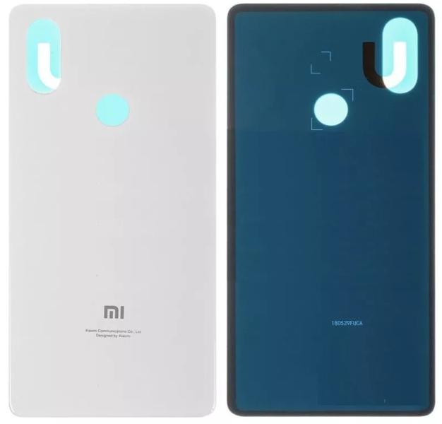 Задняя крышка для Xiaomi Mi 8 (Mi8) цвет: белый