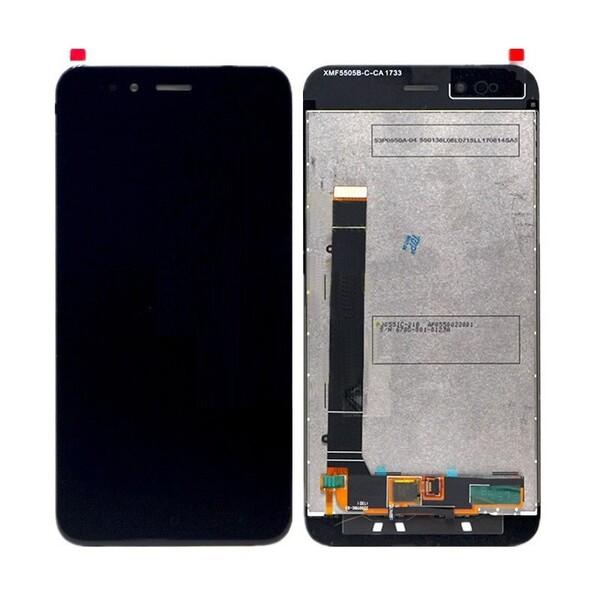 Экран для Xiaomi Mi A1 (MiA1) с тачскрином, цвет: черный