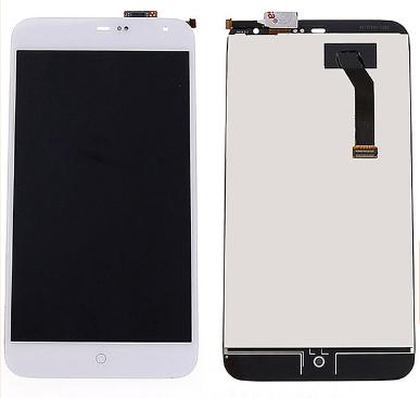 Экран для Meizu MX4 Pro с тачскрином, цвет: белый