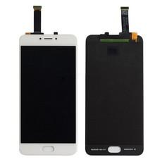Экран для Meizu MX6 с тачскрином, цвет: белый