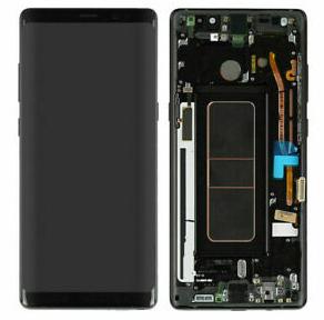Экран для Samsung Galaxy Note 8 (SM-N950) с тачскрином, цвет: черный оригинальный