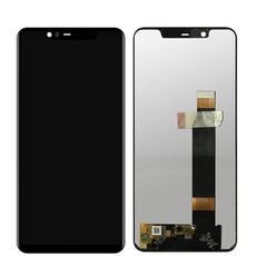 Экран для Nokia 5.1 Plus + (X5) с тачскрином, цвет: черный