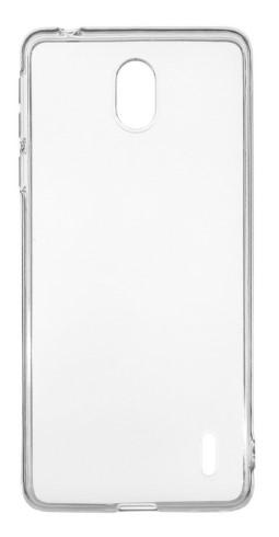 Чехол для Nokia 1 Plus силиконовый, цвет: прозрачный