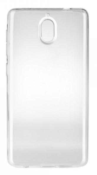 Чехол для Nokia 2.1 силиконовый, цвет: прозрачный