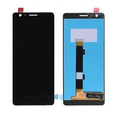 Экран для Nokia 3.1 2018 с тачскрином, цвет: черный