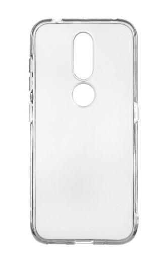 Чехол для Nokia 4.2 силиконовый, цвет: прозрачный