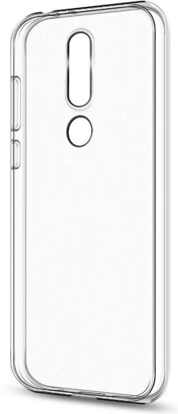 Чехол для Nokia 5.1 силиконовый, цвет: прозрачный
