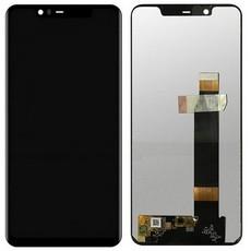 Экран для Nokia 5.1 2018 с тачскрином, цвет: черный