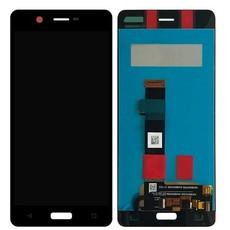 Экран для Nokia 5 с тачскрином, цвет: черный