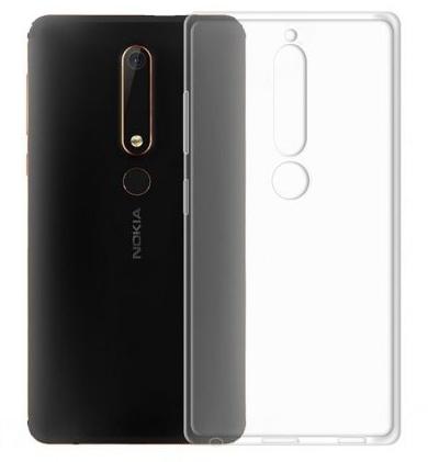 Чехол для Nokia 6, цвет: прозрачный
