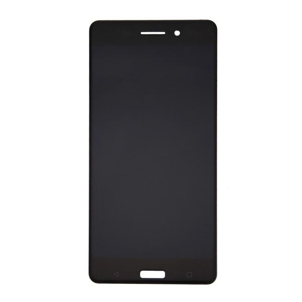 Экран для Nokia 6 с тачскрином, цвет: черный