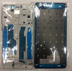 Средняя часть (рамка) для Xiaomi Redmi Note 4, цвет: белый