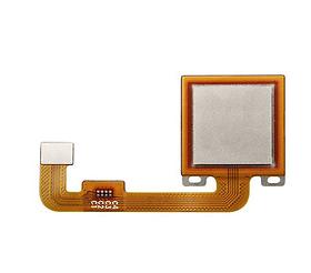Шлейф для Xiaomi Redmi Note 4 Global, Note 4X со сканером (сенсором) отпечатка пальцев, цвет: золотой