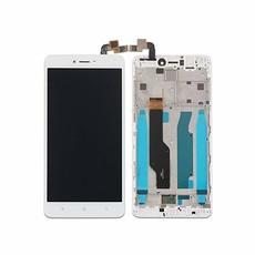 Экран для Xiaomi Redmi Note 4X, Note 4 Global с тачскрином, цвет: белый (в рамке)
