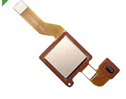 Шлейф для Xiaomi Redmi Note 5, Note 5 Pro со сканером (сенсором) отпечатка пальцев, цвет: золотой