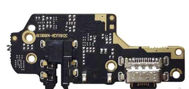 Нижняя плата для Xiaomi Redmi Note 8 на разъем зарядки c микрофоном