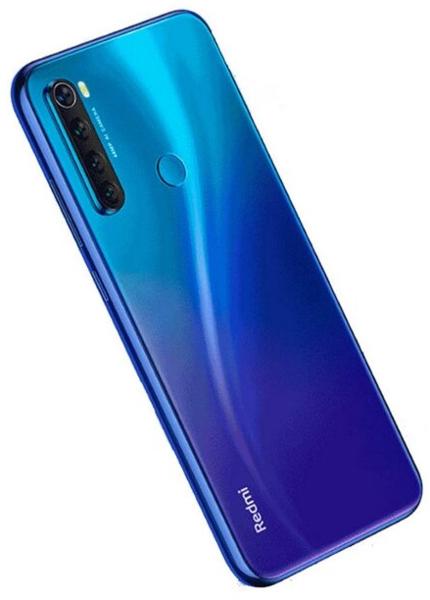 Задняя крышка (корпус) для Xiaomi Redmi Note 8T, цвет: синий