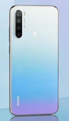 Задняя крышка (корпус) для Xiaomi Redmi Note 8T, цвет: белый