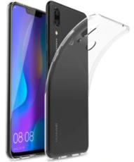 Чехол для Huawei Nova 3 силиконовый, цвет: прозрачный