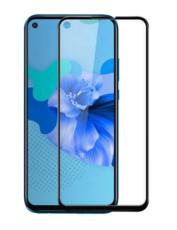 Защитное стекло для Huawei Nova 5i 5D (полная проклейка), цвет: черный