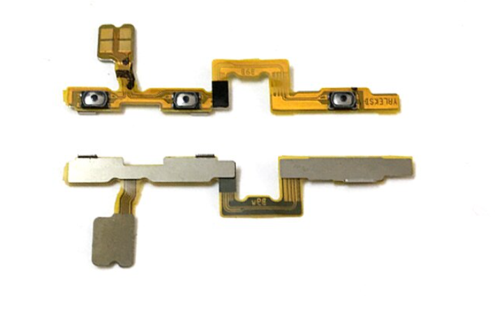 Шлейф для Huawei Nova 5T с кнопкой выключения/включения и регулировки громкости