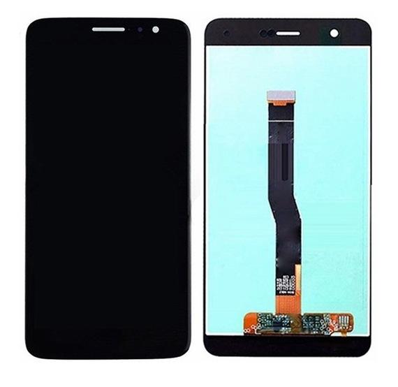 Экран для Huawei Nova (CAN-L11) с тачскрином, цвет: черный
