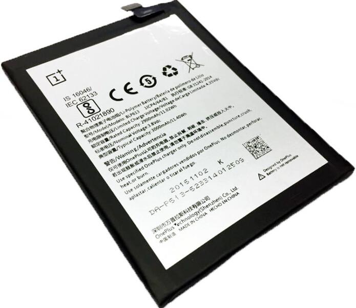 Аккумулятор для OnePlus 3 (BLP613) оригинальный