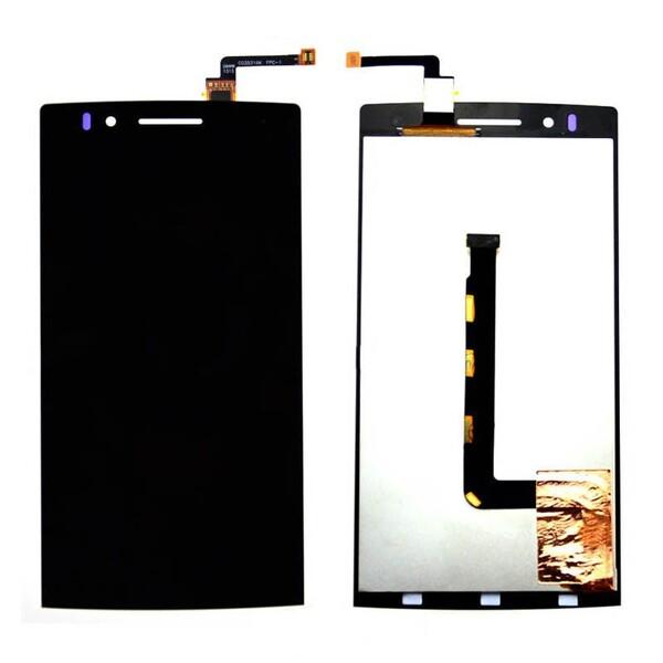 Экран для Oppo Find 5 X909 с тачскрином, цвет: черный