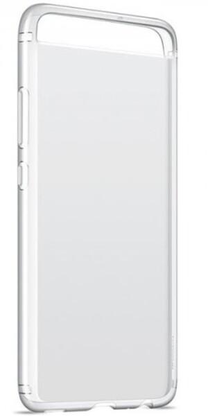 Чехол для Huawei P10 силиконовый, цвет: прозрачный