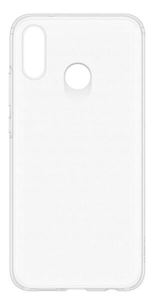 Чехол для Huawei P20 Lite силиконовый, цвет: прозрачный