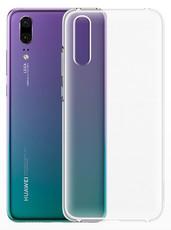 Чехол для Huawei P20 силиконовый, цвет: прозрачный