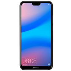 Защитное стекло для Huawei Ascend P20 Lite 3D (проклейка по контуру), цвет: черный