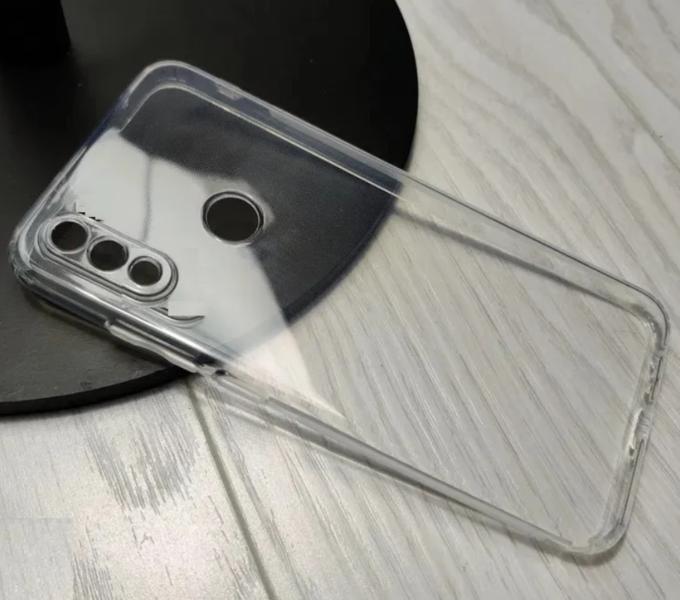 Чехол для Huawei P40 lite E силиконовый, цвет: прозрачный
