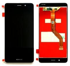 Экран для Huawei P8 Lite 2017 (Honor 8 Lite) с тачскрином, цвет: черный