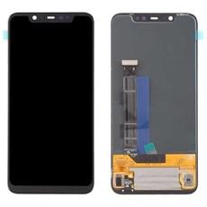 Экран для Xiaomi Mi8 (Mi 8) с тачскрином, цвет: черный (оригинальный)