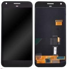Экран для Google Pixel с тачскрином, цвет: черный, оригинальный