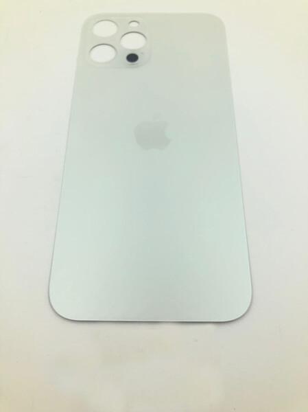 Задняя крышка (стекло) для Apple iPhone 12 Pro MAX, цвет: белый