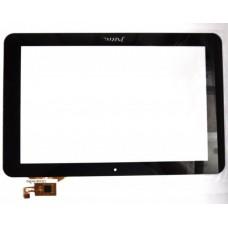 Тачскрин для планшета Ritmix 1027 (QSD E-C100016-02/ 702-10016-11), цвет: черный