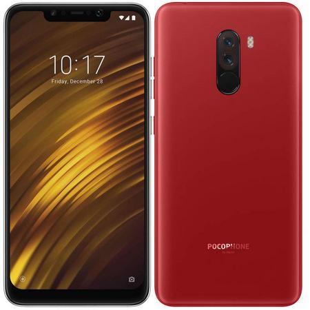 Задняя крышка для Xiaomi Pocophone F1 цвет: красный