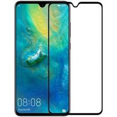 Защитное стекло для Huawei Mate 20 5D (полная проклейка) цвет: черный